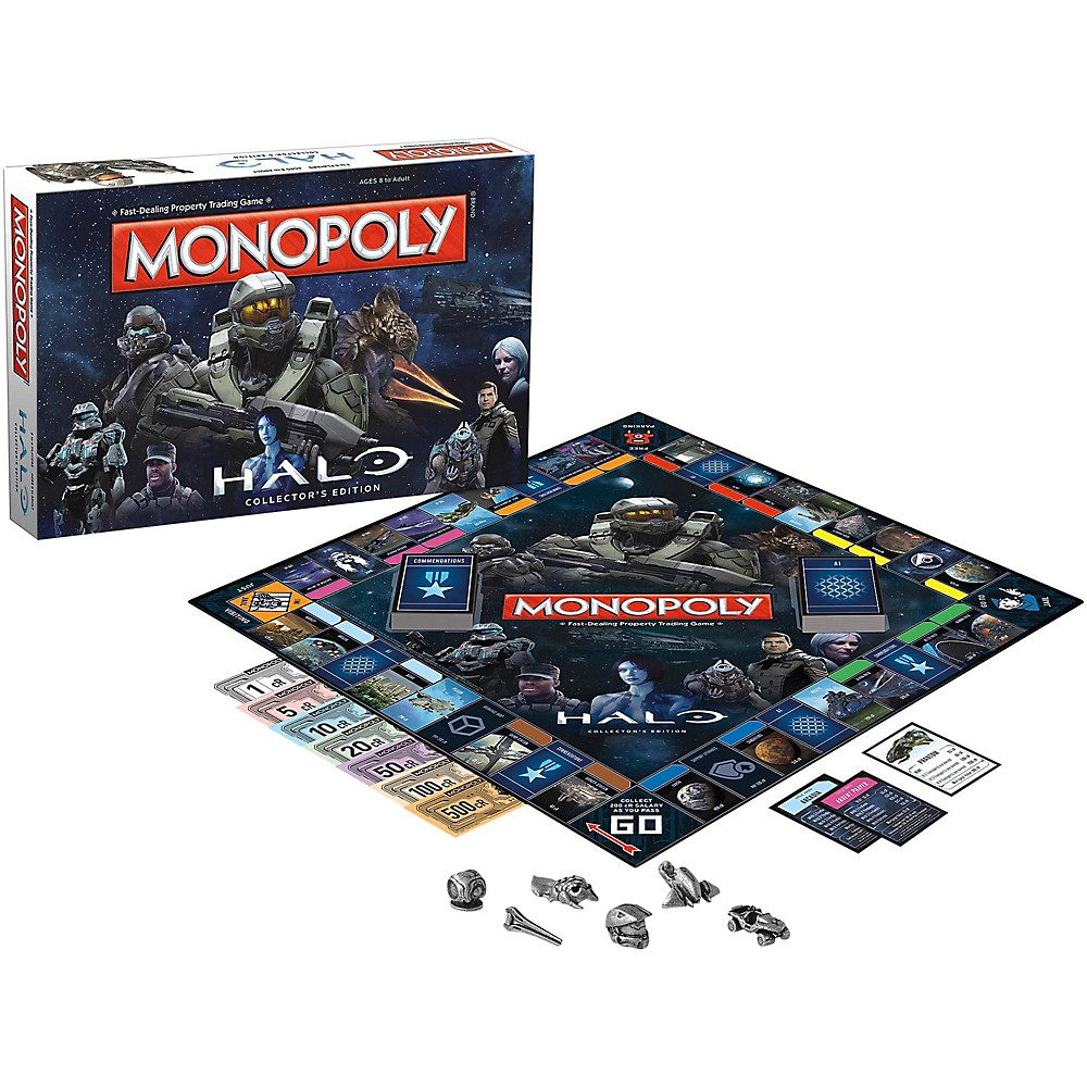 Usaopoly Monopoly: Halo Collector's Edition 1500000035377