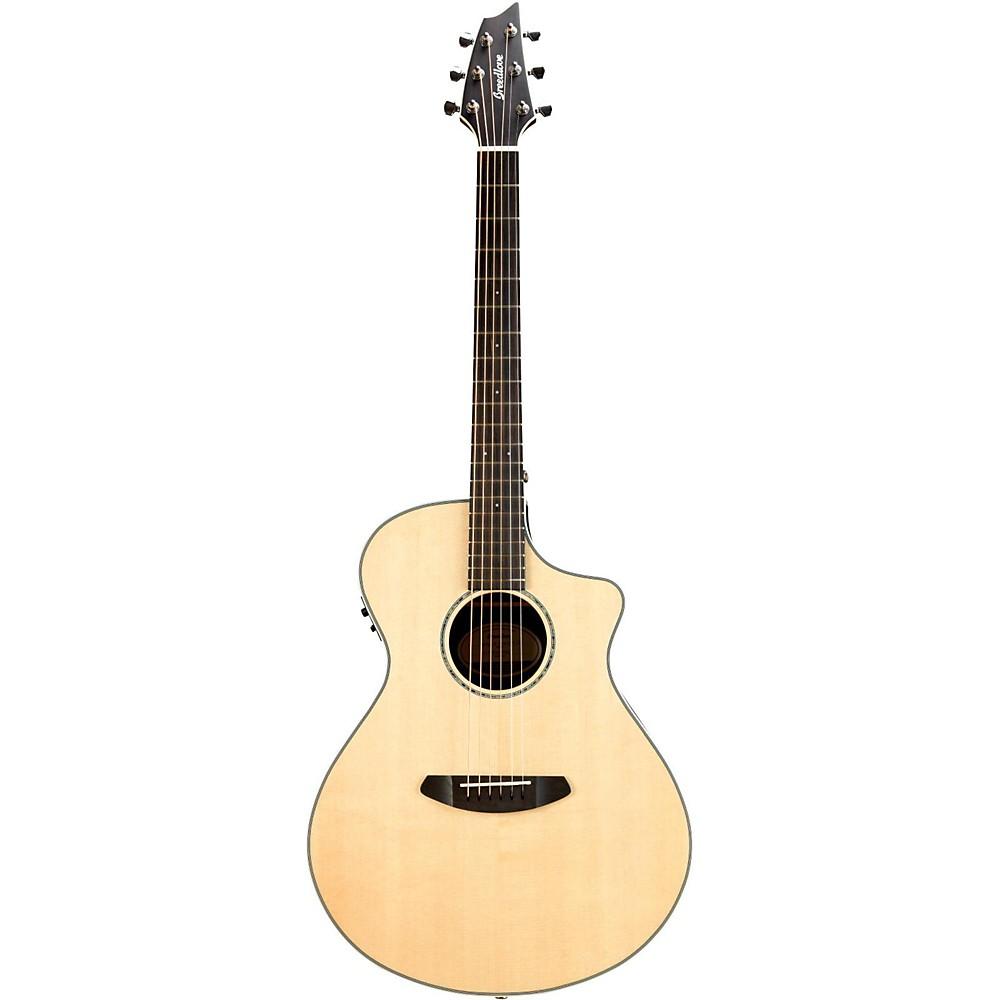 Breedlove Pursuit Exotic Concert Ce Sitka Spruce Ziricote Acoustic-Electric Guitar 1500000034225