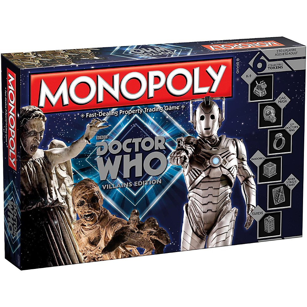 USAOPOLY MONOPOLY: Doctor Who Villains Edition 1500000035381