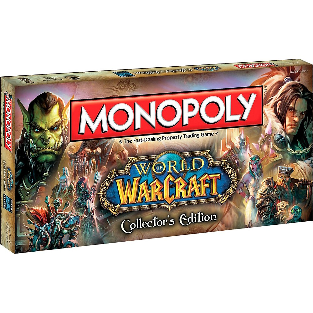 USAOPOLY MONOPOLY: World of Warcraft 1500000035376