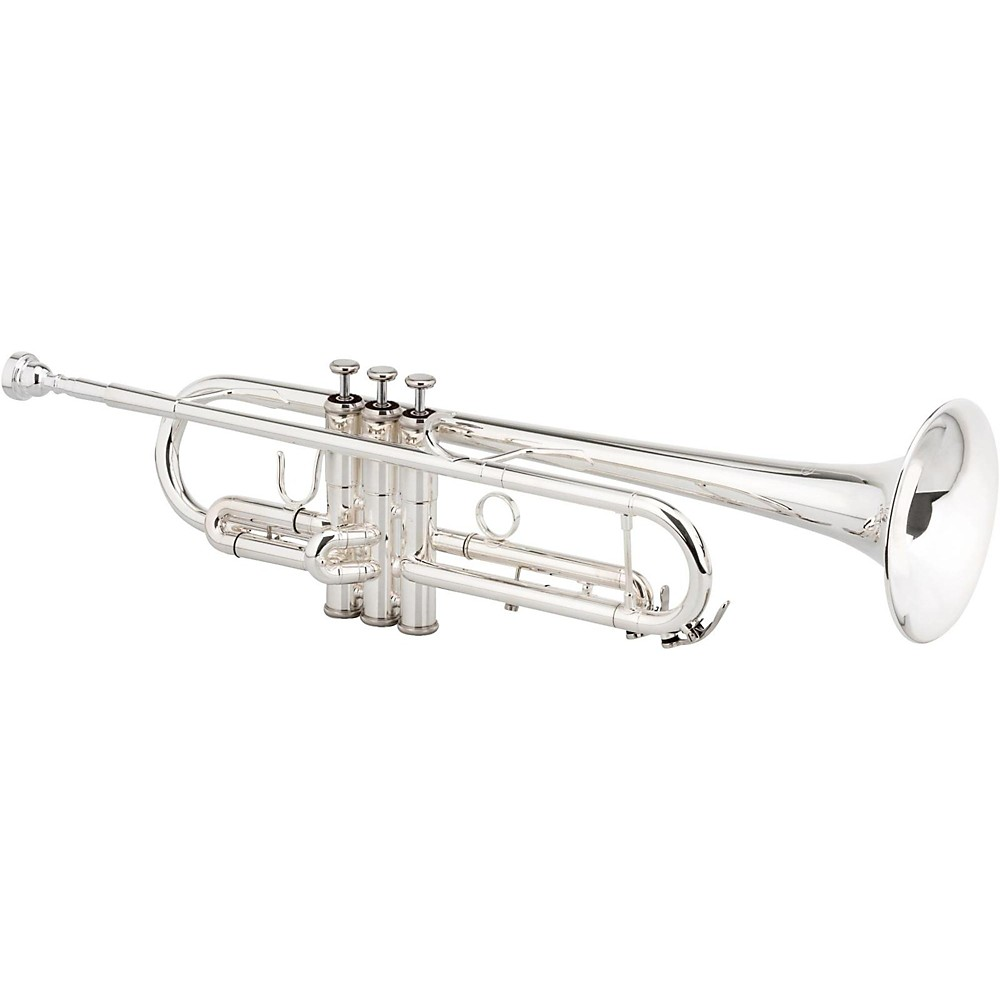 Xo 1602S-Ltr Professional Bb Trumpet Silver Plated Yellow Brass Bell 1500000036211
