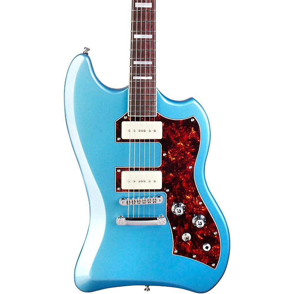 Guild T-Bird ST P90 BLU Solid Body Electric Guitar Pelham Blue 1500000036593