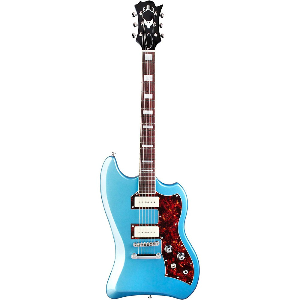 Guild T-Bird St P90 Electric Guitar Pelham Blue 1500000036593