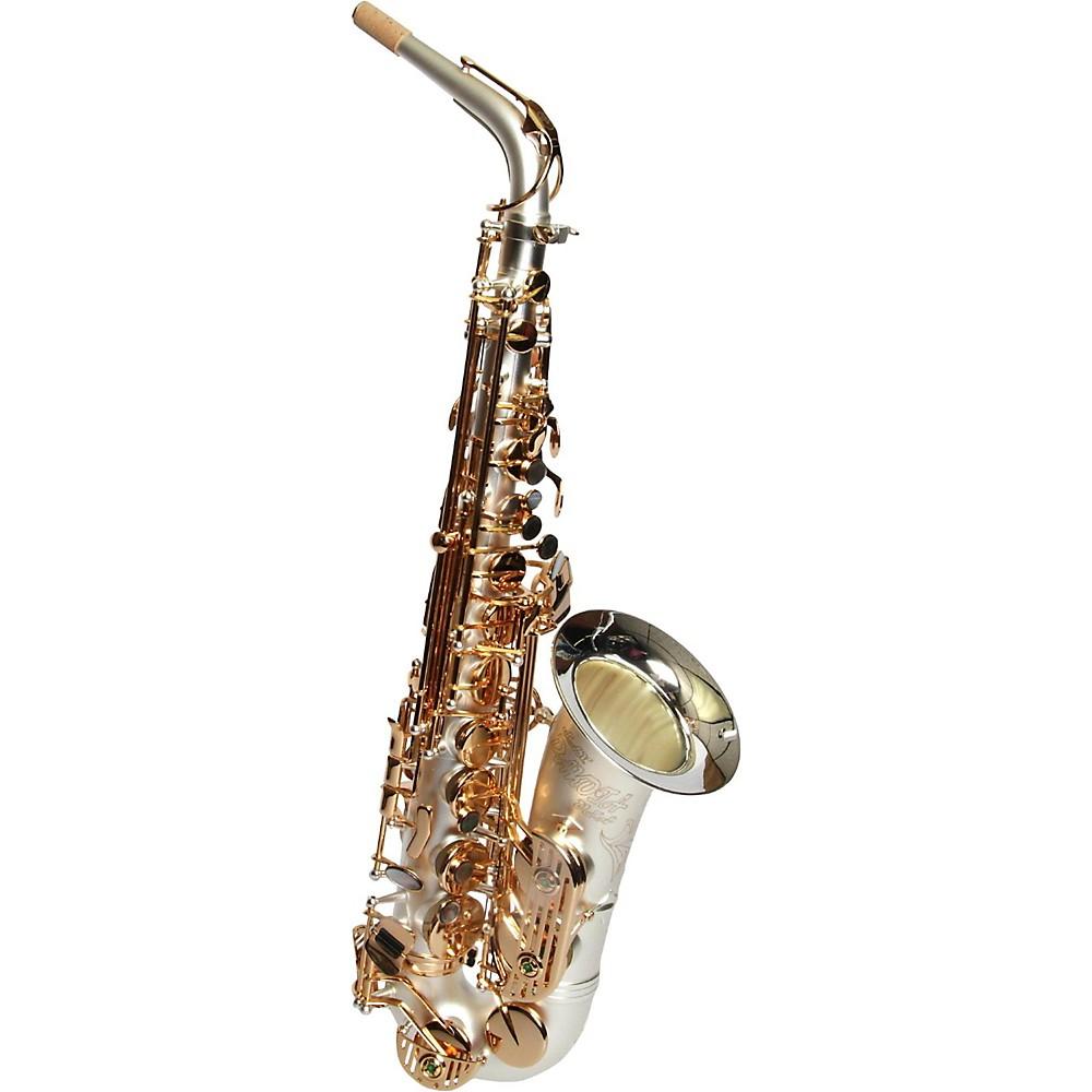 Sax Dakota Sda-1000 Ss Professional Alto Saxophone Satin Silver 1500000038040