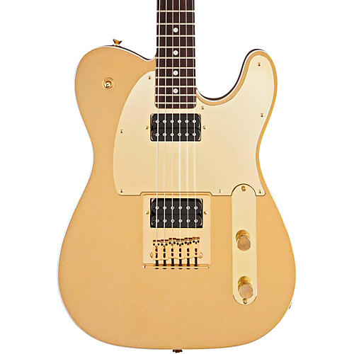 Squier J5 Telecaster Electric Guitar Frost Gold