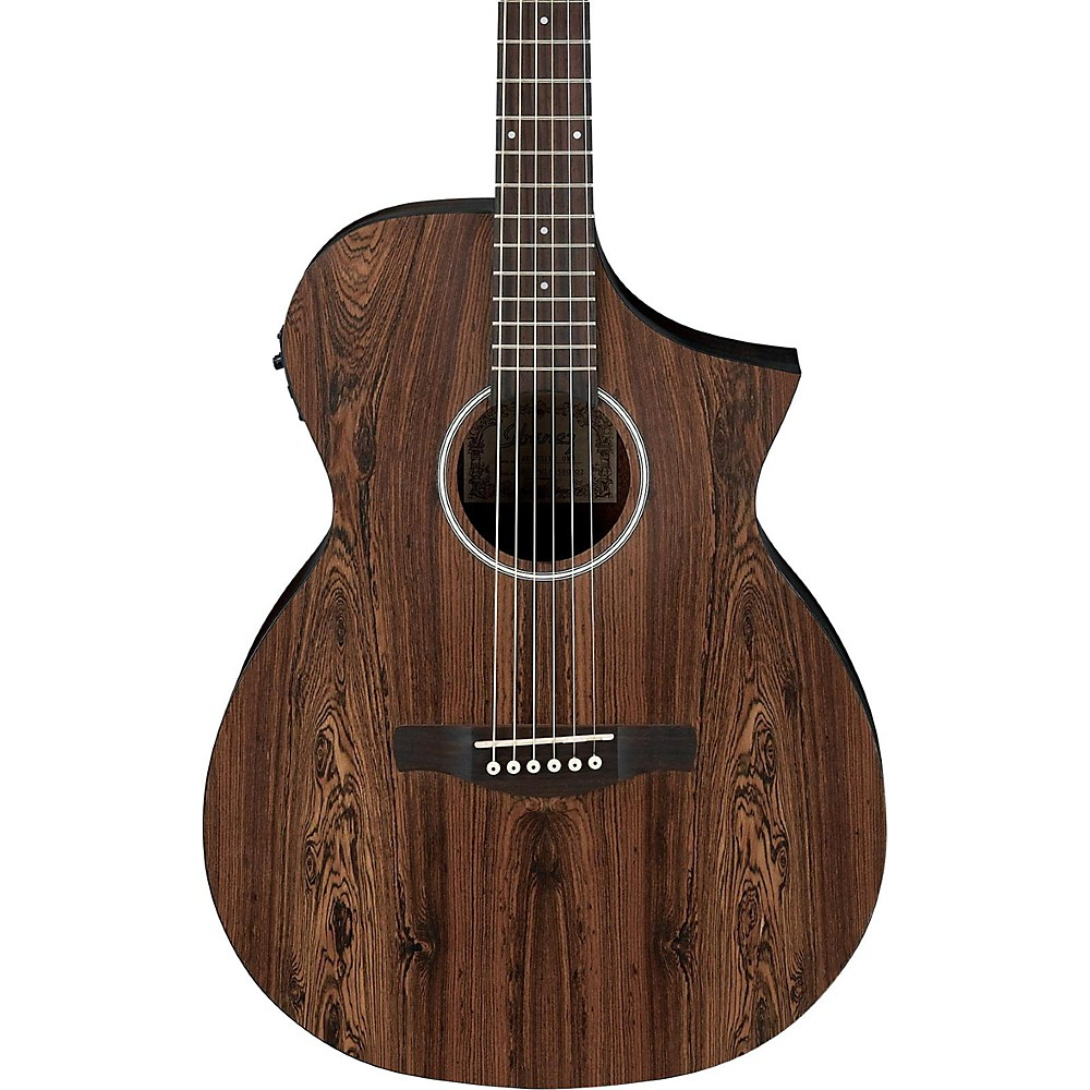 Ibanez Aewc31bc Bacote Exotic Wood Acoustic-Electric Guitar Natural 1500000023142