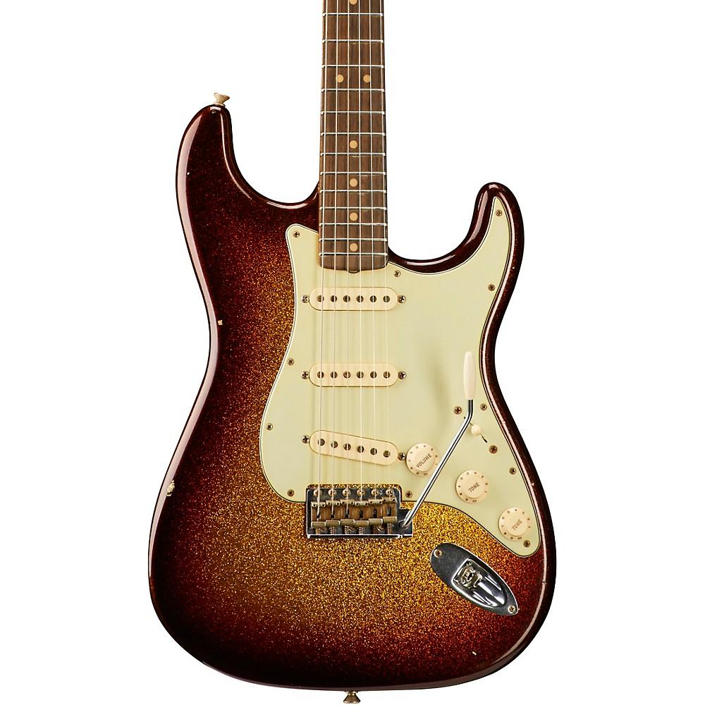 Fender Custom Shop Limited Edition '63 Journeyman Relic Stratocaster 3-Color Sunburst Sparkle 1500000040173