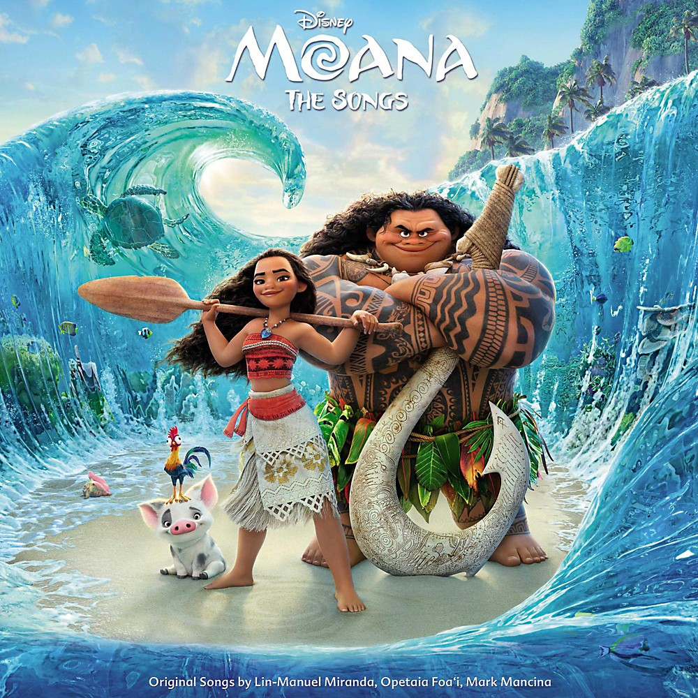 Universal Music Group Various Artists Moana (Original Motion Picture Soundtrack) [Vinyl Lp] 1500000046456