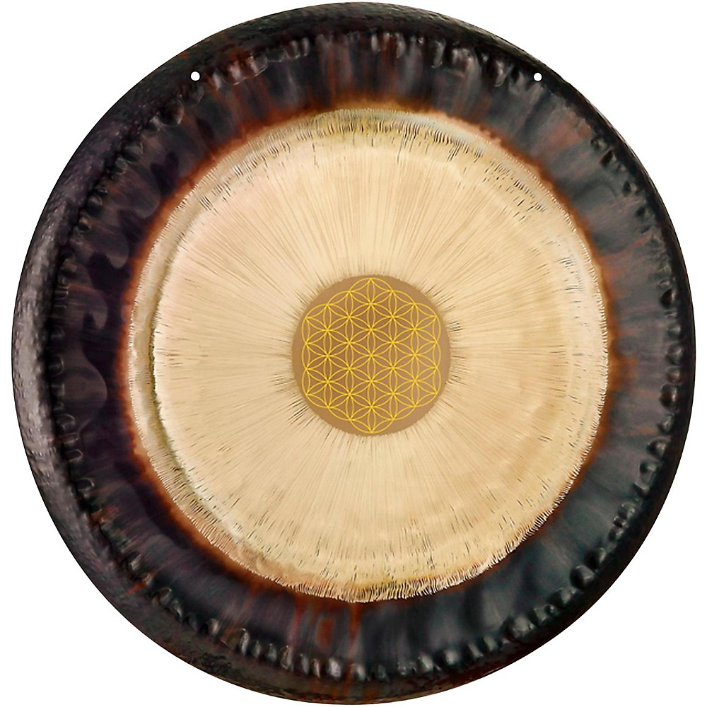 Meinl Sonic Energy G24-Fol 24-Inch Flower Of Life Gong; 128 Hz, C3 1500000042205