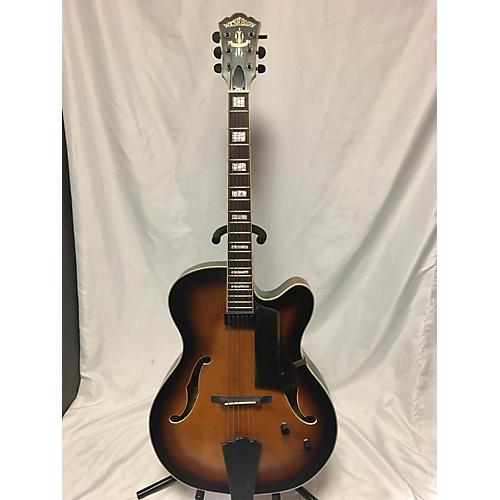 Washburn J600 Jazz Venetian Hollow Body Electric Guitar