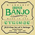 D'Addario J63i 4-String Irish Banjo Strings thumbnail