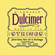 D'Addario J64 Dulcimer 4-String Set