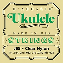 D'Addario J65 Nylon Ukulele Strings