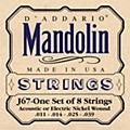 D'Addario J67 Nickel Mandolin Strings  Thumbnail