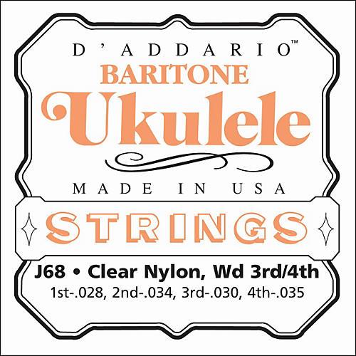 D'Addario J68 Baritone Ukulele Strings