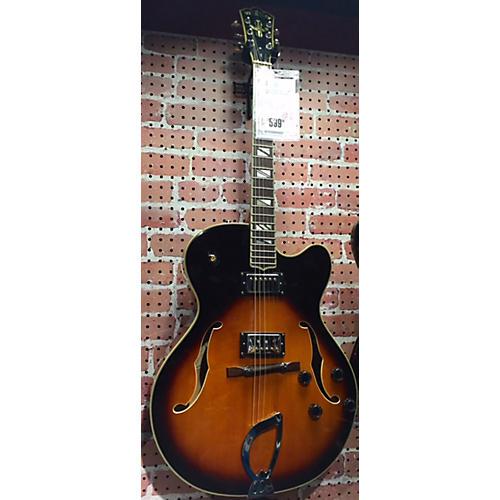 Washburn J6S Hollow Body Electric Guitar-thumbnail