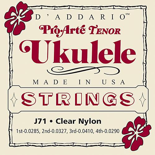 D'Addario J71 Pro Arte Tenor Ukulele Strings