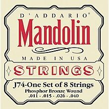 D'Addario J74 Phosphor Bronze Medium Mandolin Strings