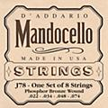 D'Addario J78 Phosphor Bronze Wound Mandocello String Set  Thumbnail