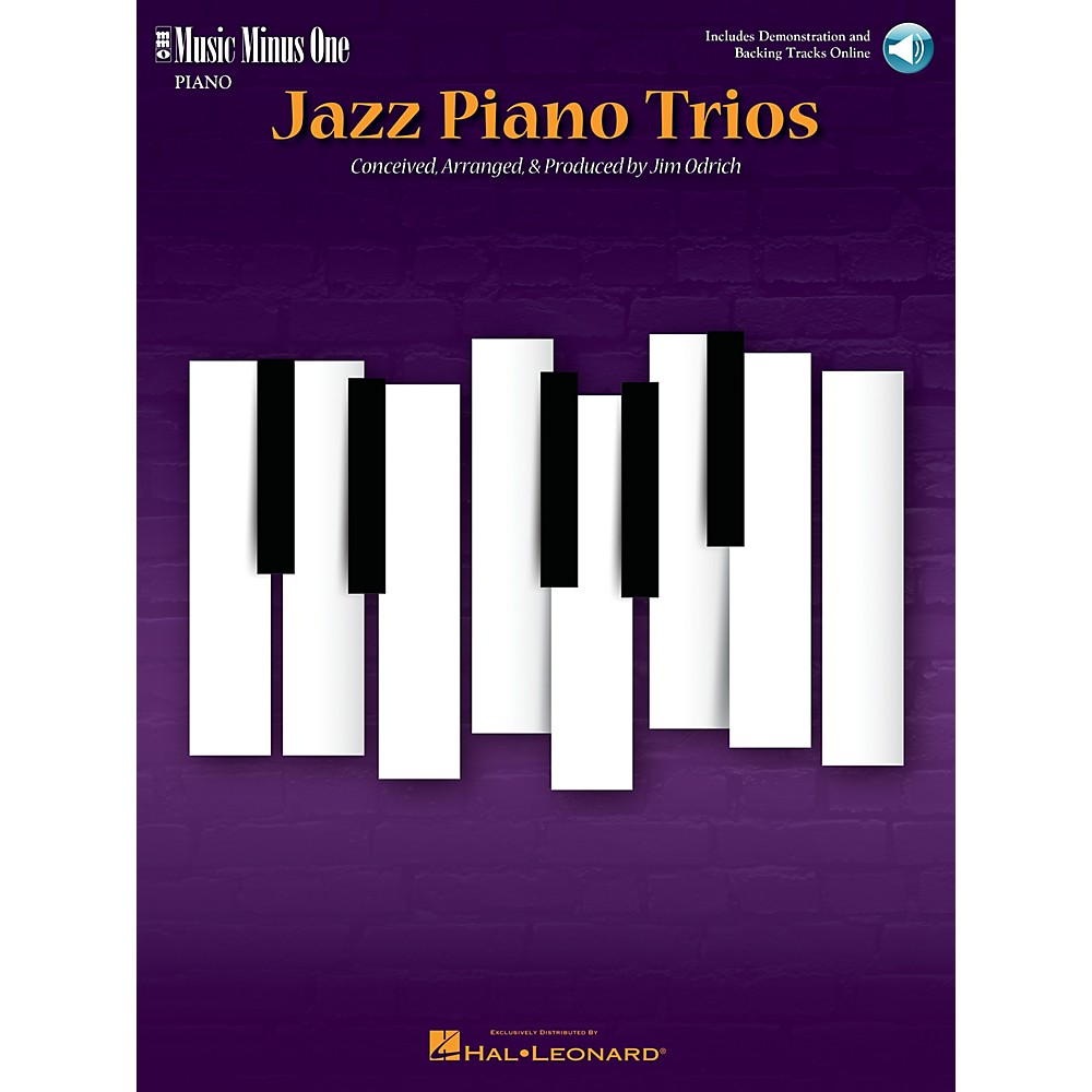 Music Minus One Jazz Piano Trios (Deluxe 2-Cd Set) Music Minus One Series Softcover With Cd 1500000090770