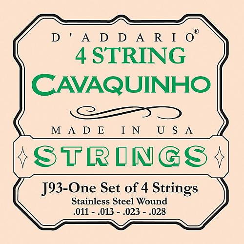 D'Addario J93 Cavaquinho Stainless String Set-thumbnail