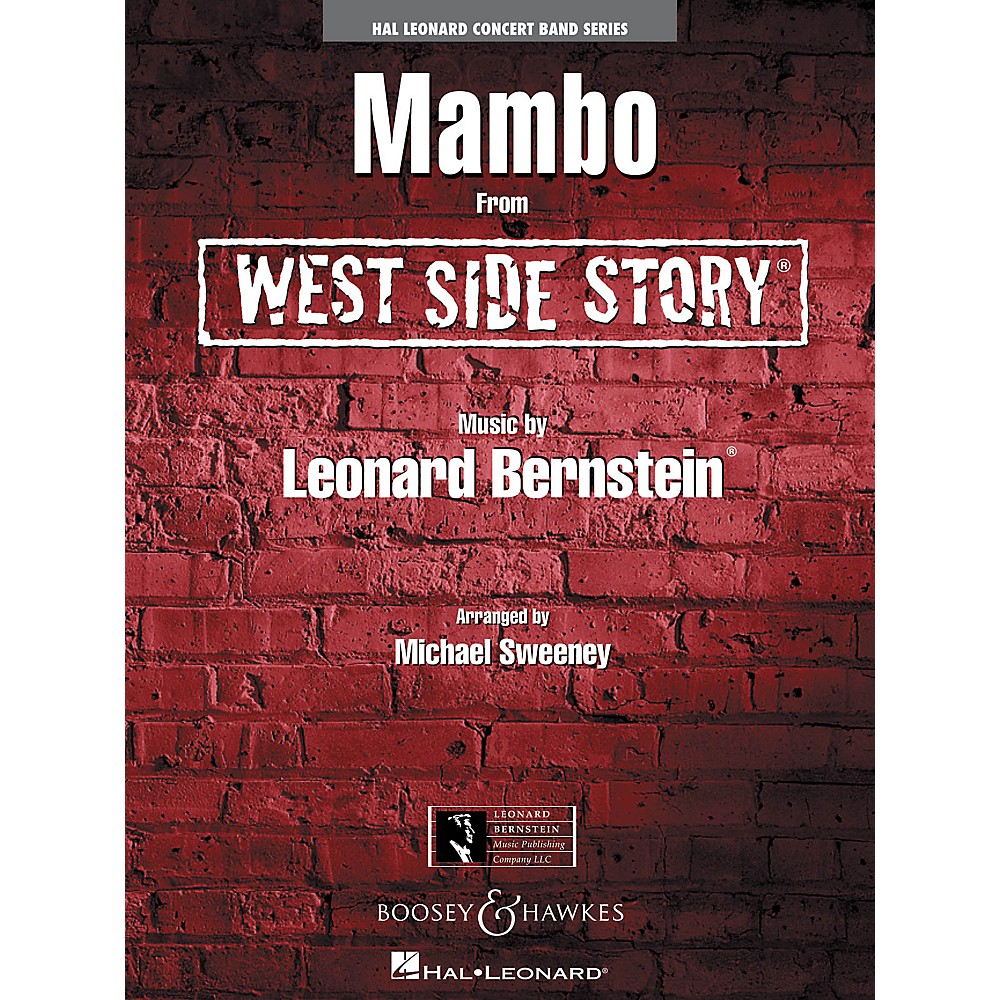 Leonard Bernstein Music Mambo (From West Side Story) Concert Band Level 4 Arranged By Michael Sweeney 1500000090453