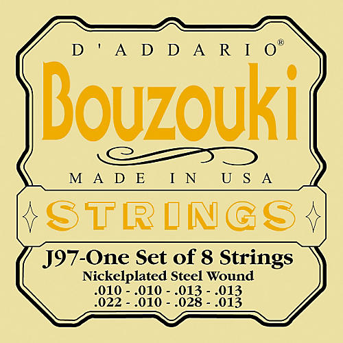 D'Addario J97 Bouzouki String Set