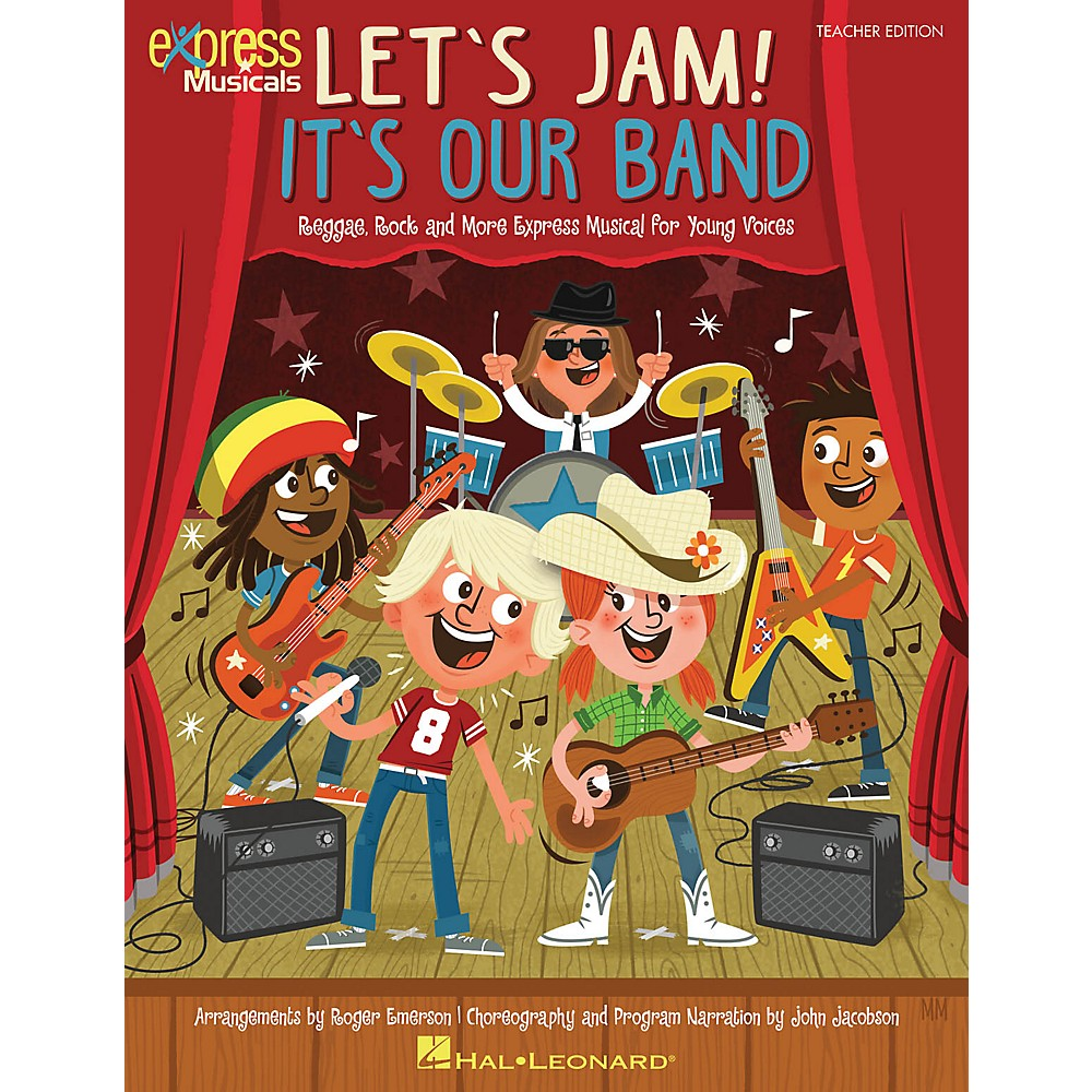 Hal Leonard Let's Jam! It's Our Band Classrm Kit Composed By Roger Emerson 1500000103337