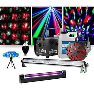 CHAUVET DJ JAM Pack Diamond with VEI Mini Laser, Party Bulb and UV Blacklig...
