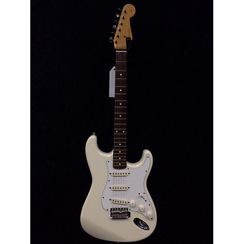 Fender JAPANESE STRATOCASTER Olympic White Solid Body Electric Guitar