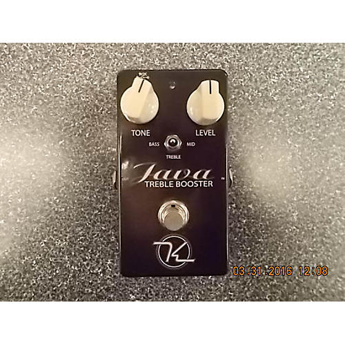 Keeley JAVA TREBLE BOOSTER Effect Pedal