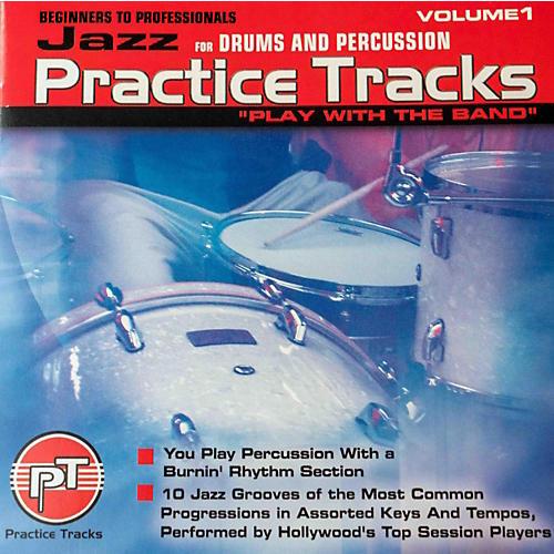Practice Tracks JAZZ DRUMS CD-thumbnail