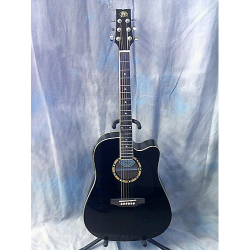 JB Player JBEA25BK Acoustic Electric Guitar-thumbnail