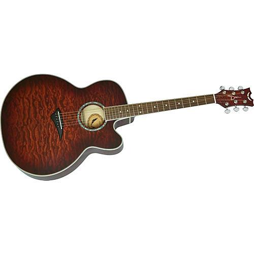 Dean JC-QM-TGE Jumbo Cutaway Acoustic-Electric Guitar