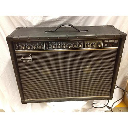 Roland JC120 Jazz Chorus 2x12 Guitar Combo Amp-thumbnail