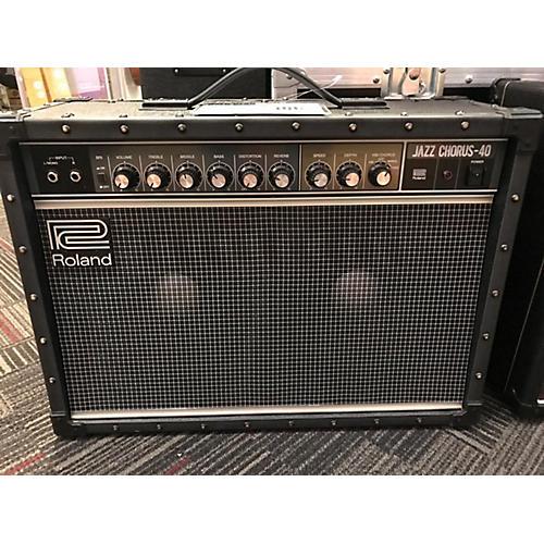 Roland JC40 JAZZ CHORUS 40W Guitar Combo Amp-thumbnail