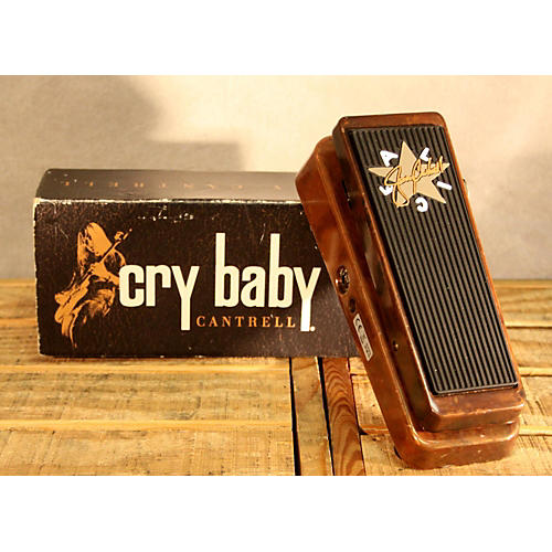 Dunlop JC95 Jerry Cantrell Signature Cry Baby Wah Effect Pedal-thumbnail