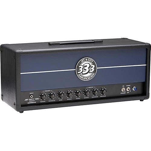 Jet City Amplification JCA Series JCA100H 100W Tube Guitar Amp Head Black