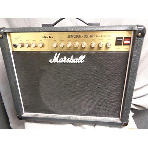 used marshall jcm 2000 dsl 401 150w tube guitar combo amp guitar center. Black Bedroom Furniture Sets. Home Design Ideas