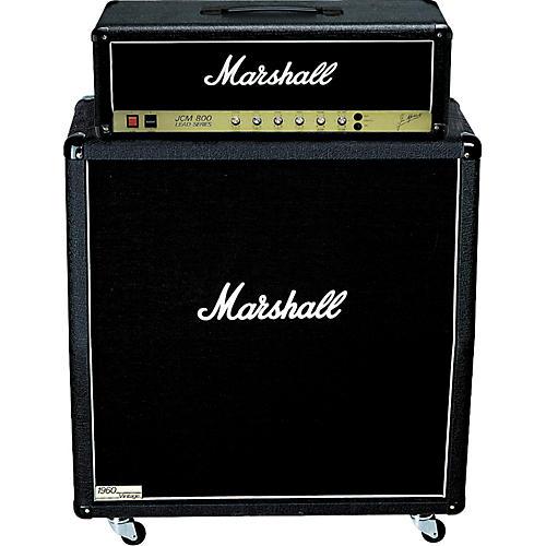 Marshall JCM 800 Head and 1960AV Cab Half-Stack Package-thumbnail