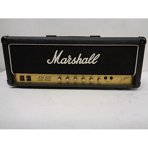 used marshall jcm 800 tube guitar amp head guitar center. Black Bedroom Furniture Sets. Home Design Ideas