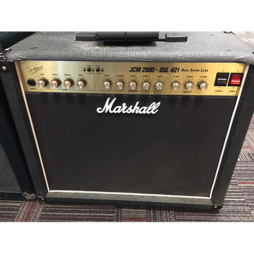 Marshall JCM200 DSL401 Tube Guitar Combo Amp-thumbnail