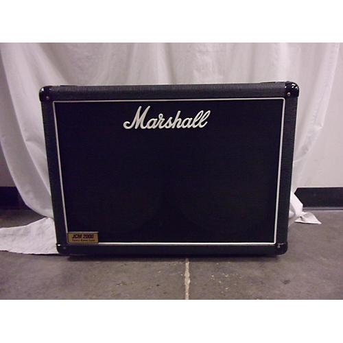 used marshall jcm2000 2x12 speaker cabinet guitar cabinet guitar center. Black Bedroom Furniture Sets. Home Design Ideas