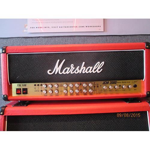 Marshall JCM2000 DSL100 100W Flat Red Tube Guitar Amp Head Flat Red