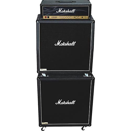 Marshall JCM800 2203KK, 1960AV, and 1960BV Tube Guitar Full Stack