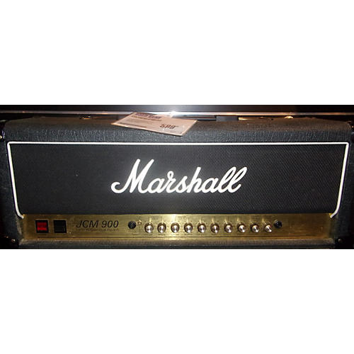 Marshall JCM900 100W Black Tube Guitar Amp Head-thumbnail
