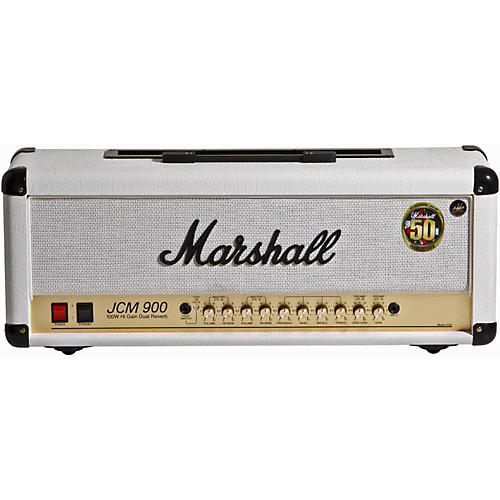 Marshall JCM900 100W High Gain Dual Reverb Tube Guitar Head-thumbnail