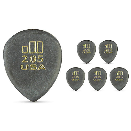 Dunlop JD JazzTone 205 Guitar Picks 6-Pack-thumbnail