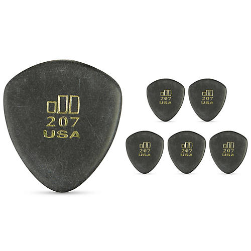 Dunlop JD JazzTone 207 Guitar Picks 6-Pack-thumbnail