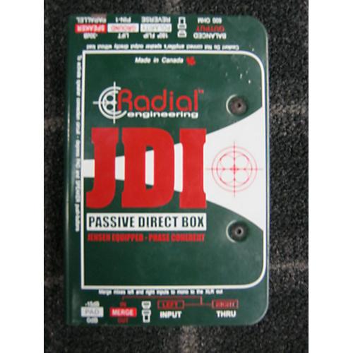 Radial Engineering JDI Passive Direct Box Direct Box